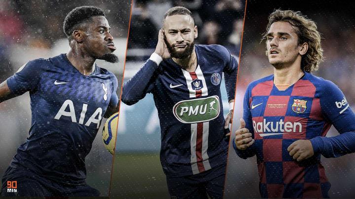 Aurier, Neymar, Griezmann sont dans l'actu mercato