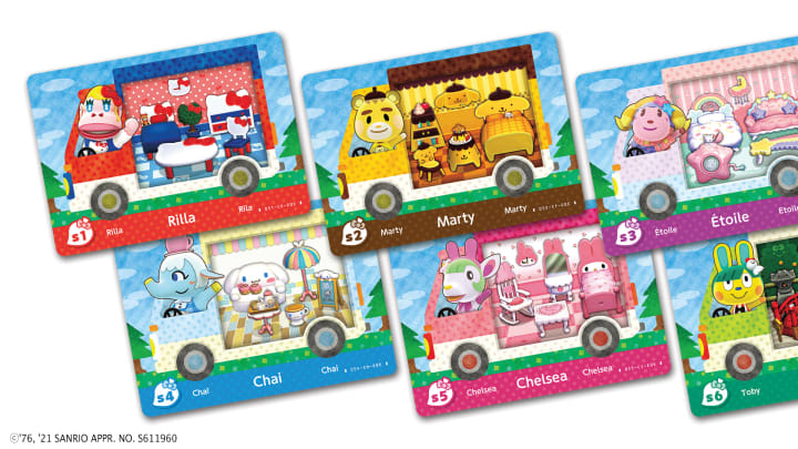 Animal Crossing's Sanrio Cards have arrived in the US for the first time in franchise history.