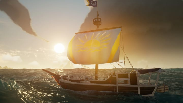 Getting stuck on Searching the Seas is a common dilemma in Sea of Thieves