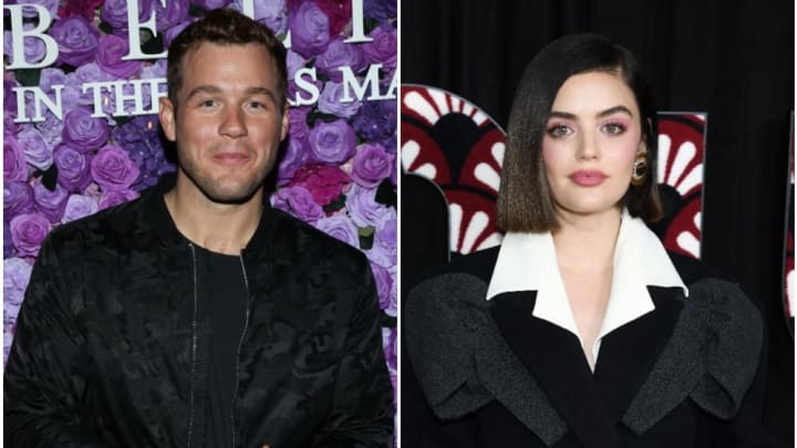 Colton Underwood reportedly dating Lucy Hale.
