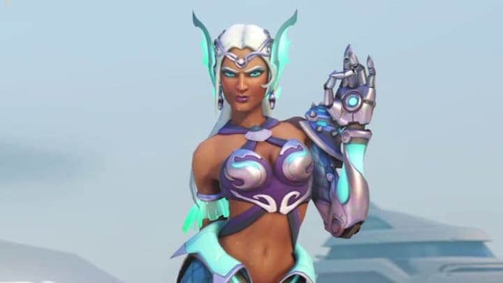 Mermaid Symmetra releases in this year's Summer Games event