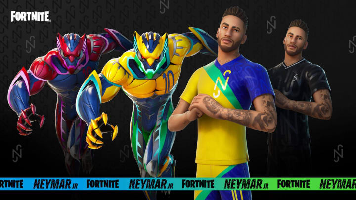 The new Neymar Jr Fortnite skin has officially released in-game. Here's how to get it.