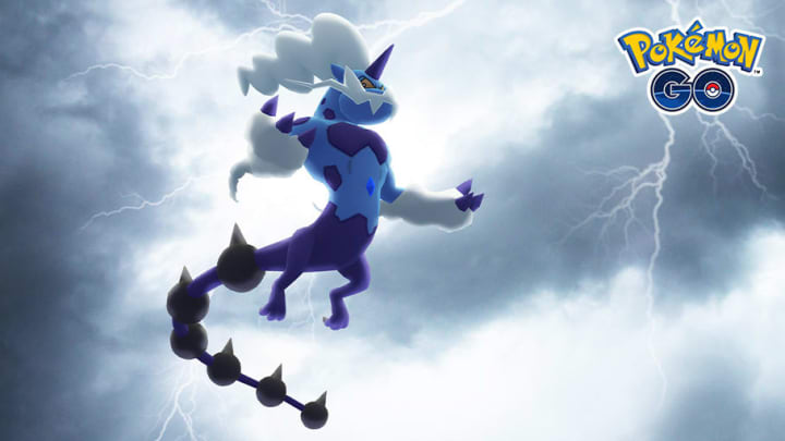 Therian Thundurus is just one of the Pokémon trainers can hope to encounter in the Charge Up event.