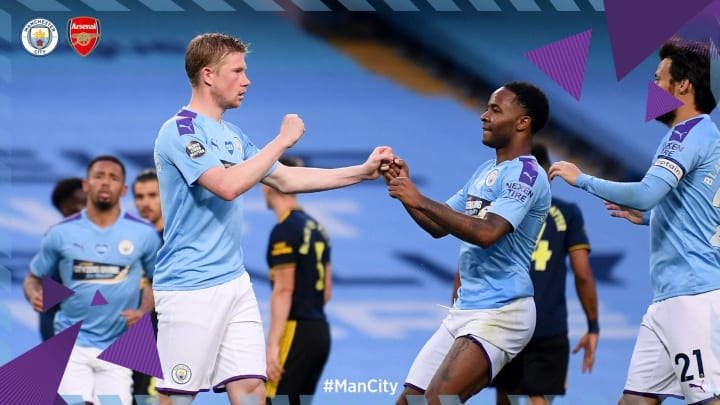 Chấm điểm Man City 3 0 Arsenal Song Sat De Bruyne Sterling Bay Cao Luiz Thanh Tội đồ