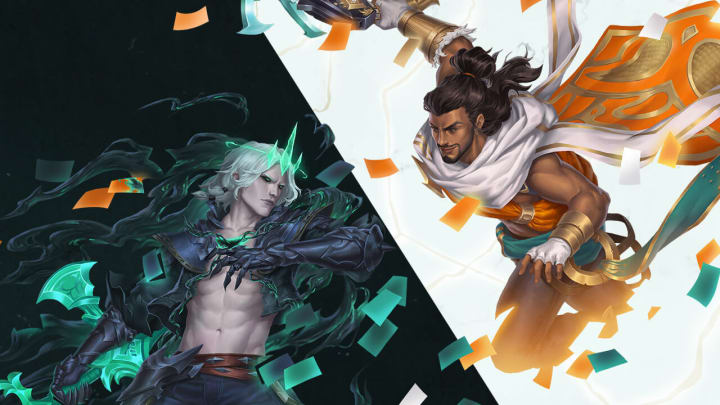 Viego and Akshan are joining Legends of Runeterra