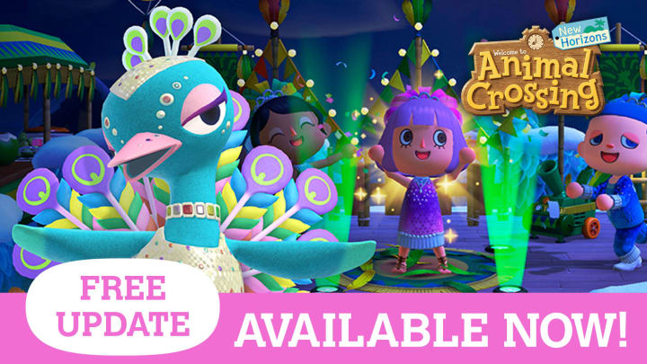 Animal Crossing's mermaid fence is one of the newest additions to the New Horizon world.
