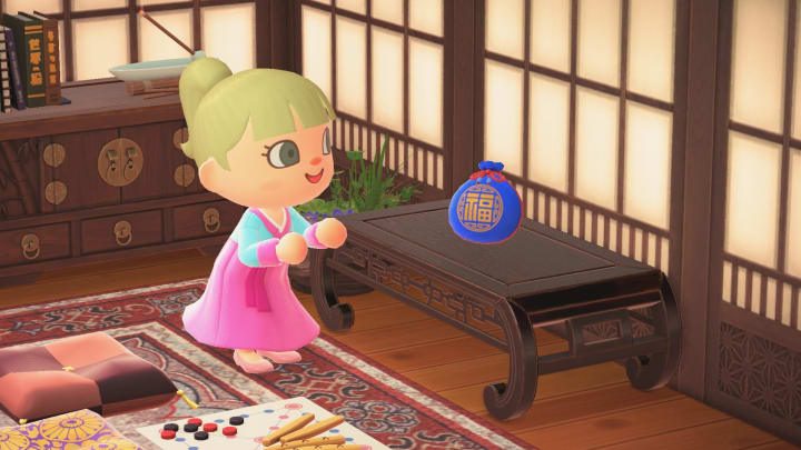 Animal Crossing: New Horizon players can buy three new Lunar New Year items for a limited time.