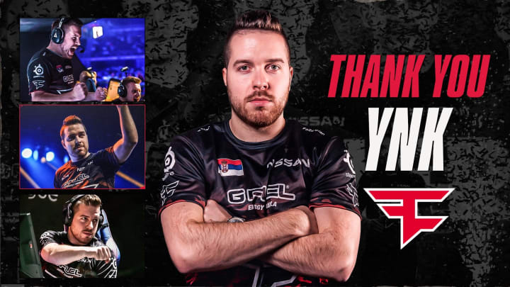 "Janko ""YNk"" Pauvonić leaves FaZe Clan, will take break from coaching."