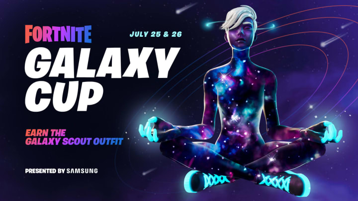 Fortnite Galaxy Cup Time is your chance to earn some cosmetics for participating.