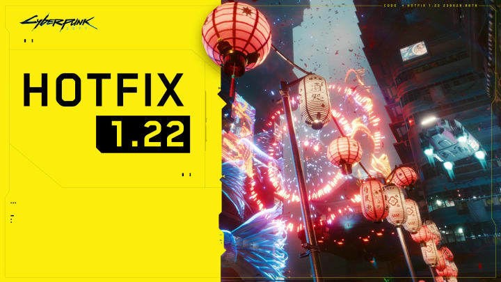 Cyberpunk 2077 developer CD Projekt Red have released another hotfix in their series of attempts to squash all its bugs.
