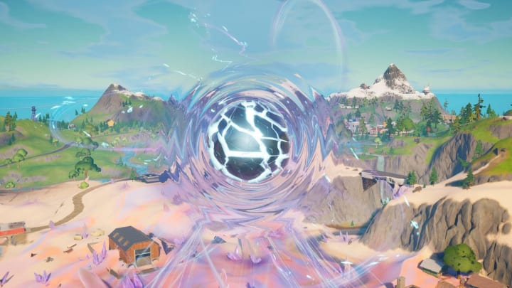 Fortnite leaks indicate the Zero Point is growing increasingly unstable.