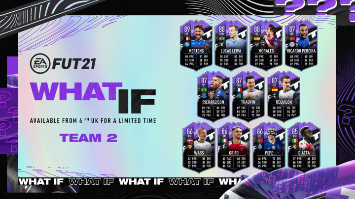 The FIFA 21 Ultimate 'What If' Team 2 cards are now available in packs.