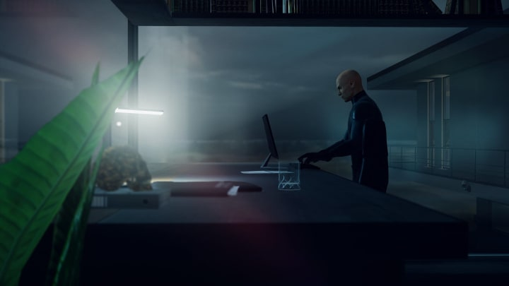 Hitman 3 Certainty Principle has you hunt down Imogen Royce in the ICA facility.