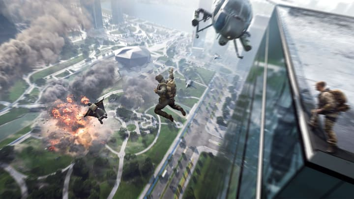 Footage from the Battlefield 2042 technical preview has made its way online.