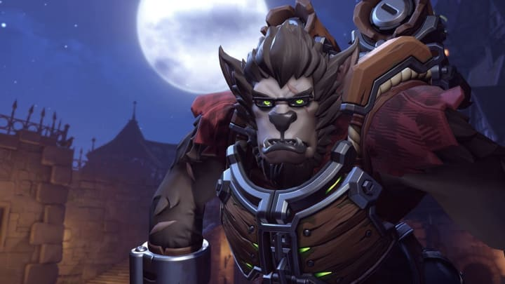 Werewolf Winston has officially released for the launch of the Overwatch Halloween Terror 2020 event Tuesday.