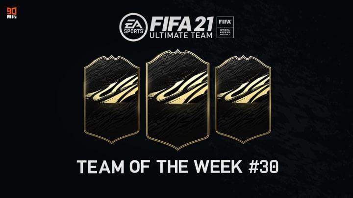 Il TOTW 30 di FIFA 21 Ultimate Team