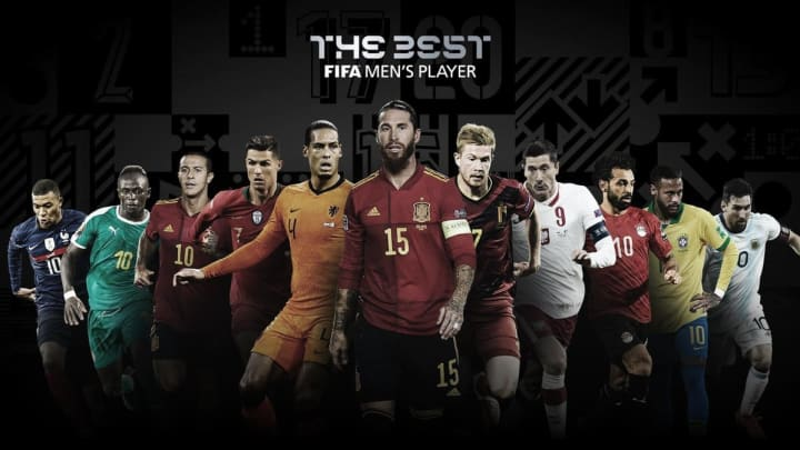 Los 11 nominados al Premio The Best de la FIFA