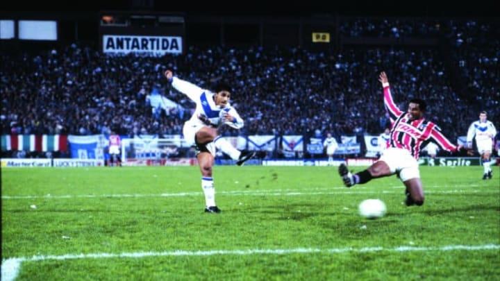Vélez fue campeón ante Sao Paulo en 1994