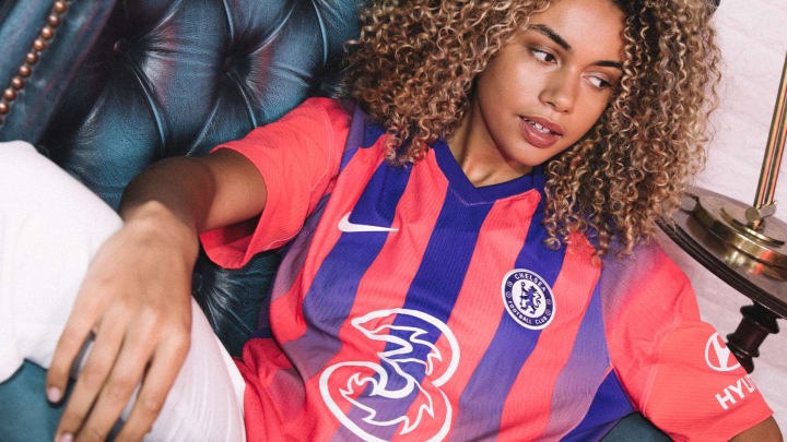 Chelsea have unveiled their new third kit