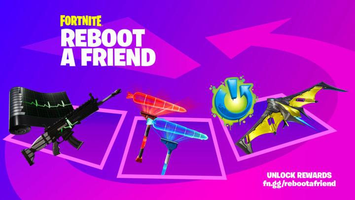 Fortnite Reboot a Friends Rewards