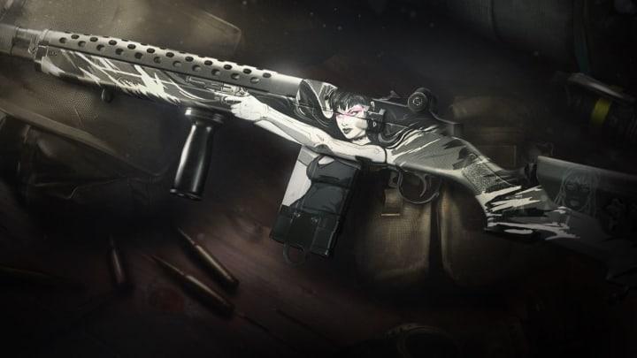 """Projeto do rifle tático """"Anjo da Morte"""""""