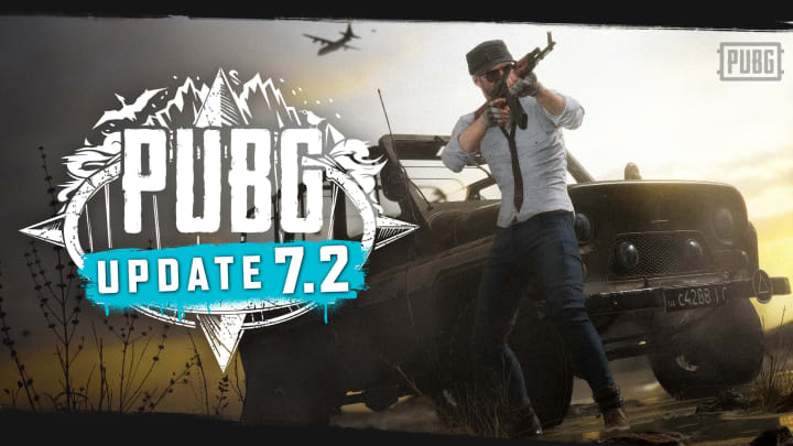 PUBG Patch 7.2 is out now on console.