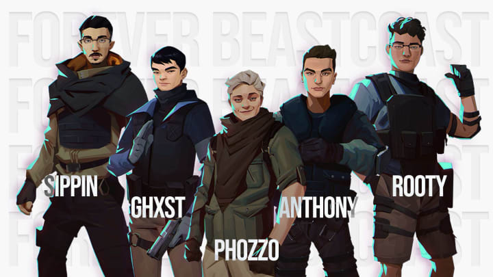 Beastcoast Rainbow Six NA League roster moves up from the Challenger League.