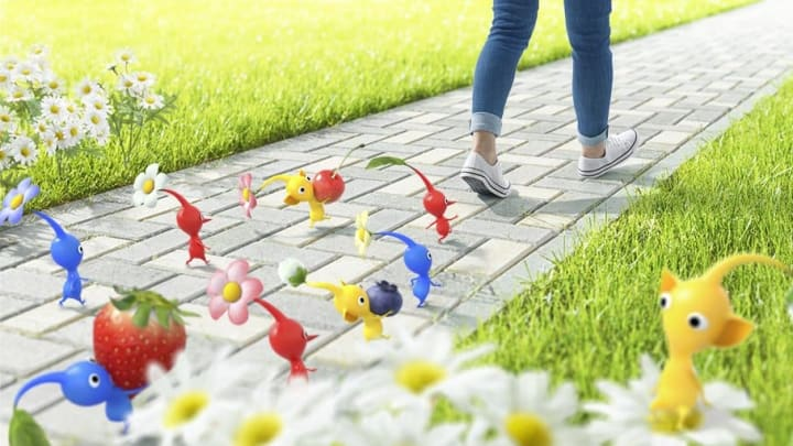 Niantic's latest augmented reality game will feature Pikmin.