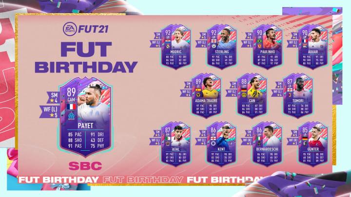 Dimitri Payet is a FIFA 21 Birthday card recipient.