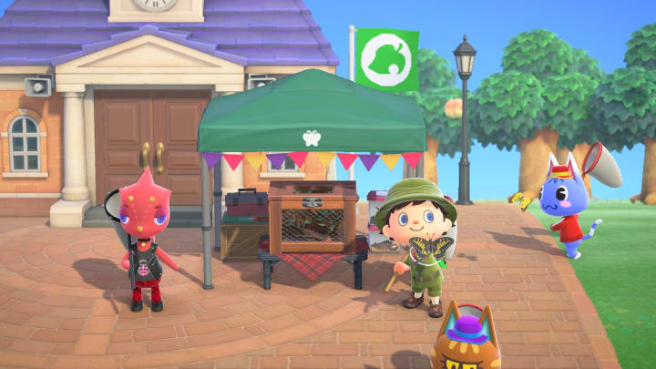 The Animal Crossing Bug Off is your chance to earn bug themed prizes.