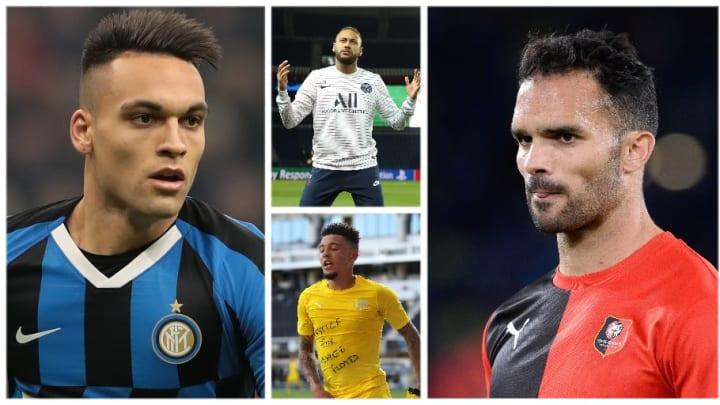 Lautaro Martinez, Neymar, Jadon Sancho et Jérémy Morel.