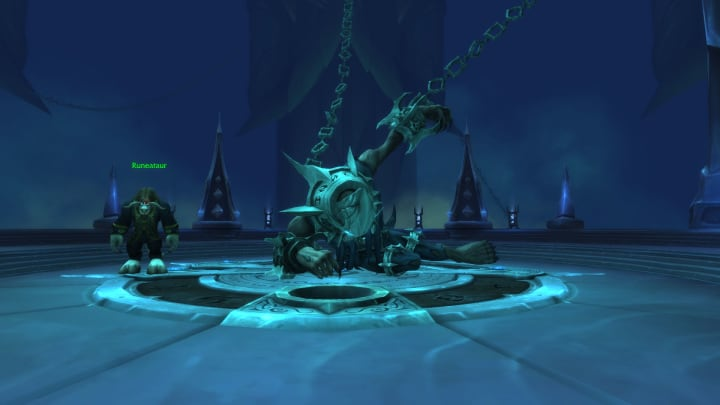 Runecarver in WoW Shadowlands, located in Torghast