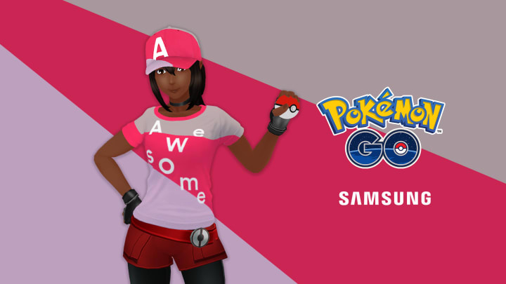 """""""Trainers, a new Galaxy A Series inspired look is now available!"""""""