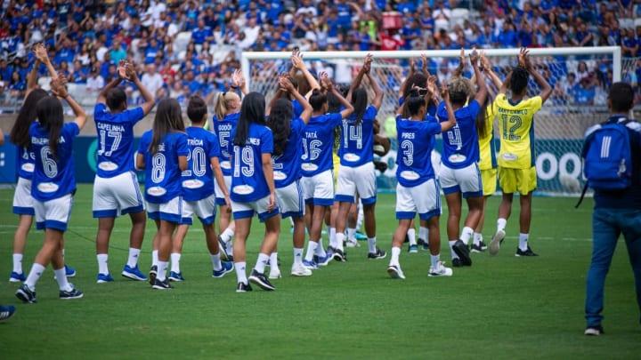 Cruzeiro é o único time mineiro na Série A do Brasileirão Feminino