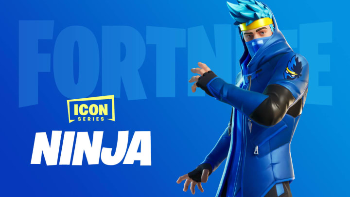 The Icon Series represents collaborations with celebrities involved with the Fortnite community.