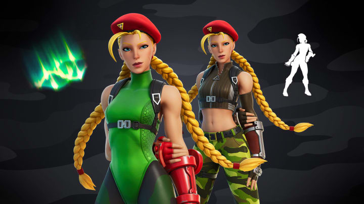 How many points do you need to get the Cammy skin in Fortnite?