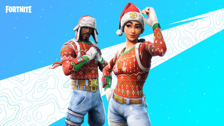 The Yuletide Ranger and Nog Ops outfits have returned to the Fortnite item shop for the holidays.