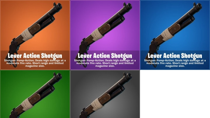 The Lever Action Shotgun comes to Fortnite in the v15.20 update.
