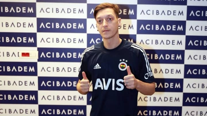 Ozil has completed his long-awaited move to Turkey