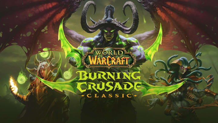 World of Warcraft Burning Crusade Classic was officially revealed at this year's BlizzConline event