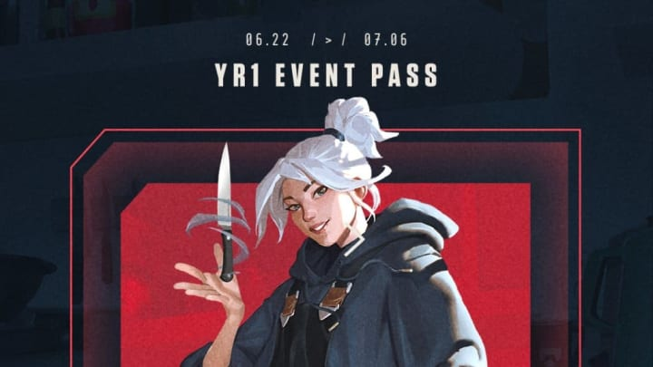 The YR1 Event Pass is here to help players celebrate Valorant's anniversary.