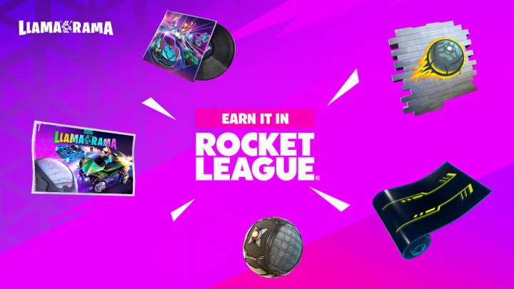 Epic Game's collaboration with Psyonix has revived Llama-Rama—an event that offers rewards in both Fortnite and Rocket League.