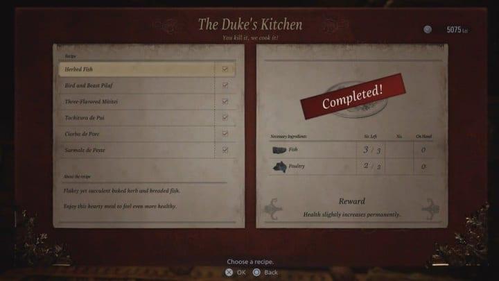 Resident Evil Village ingredients. Resident Evil Village recipes. How long is Resident Evil Village?