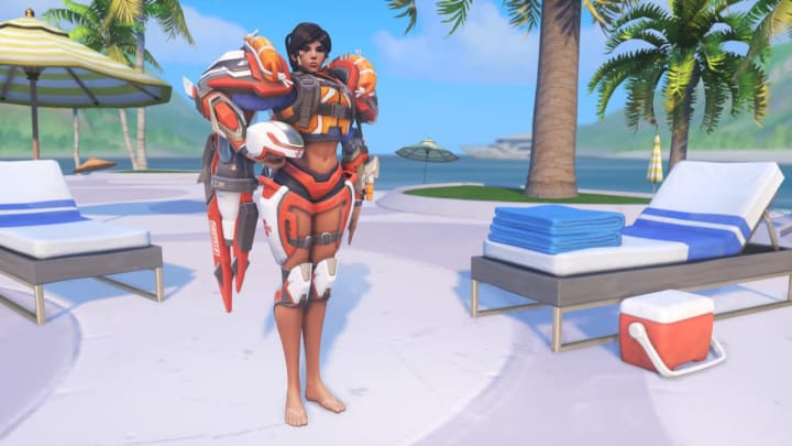 Lifeguard Pharah was released in last year's Summer Games