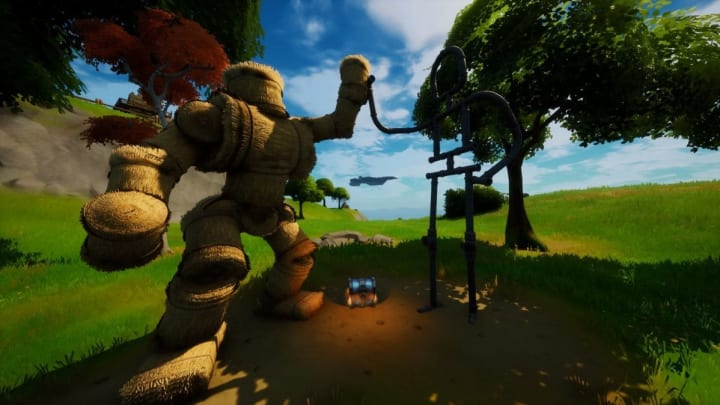 Where is the Friendship Monument in Fortnite and how to complete its challenge