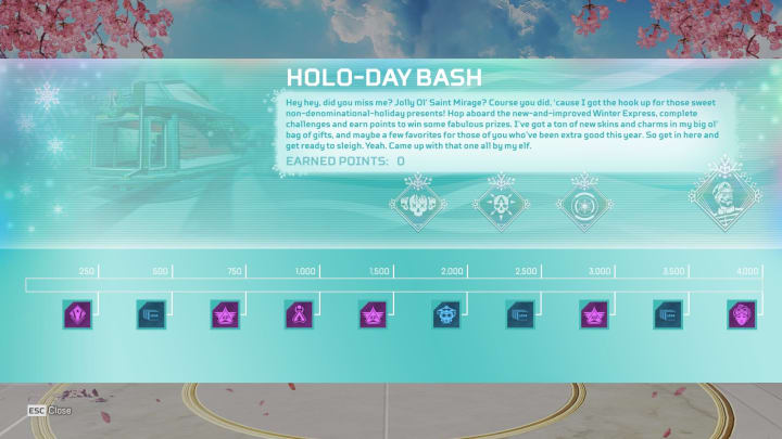 Apex Legends Holo-Day Event Skins and Lobby Leak