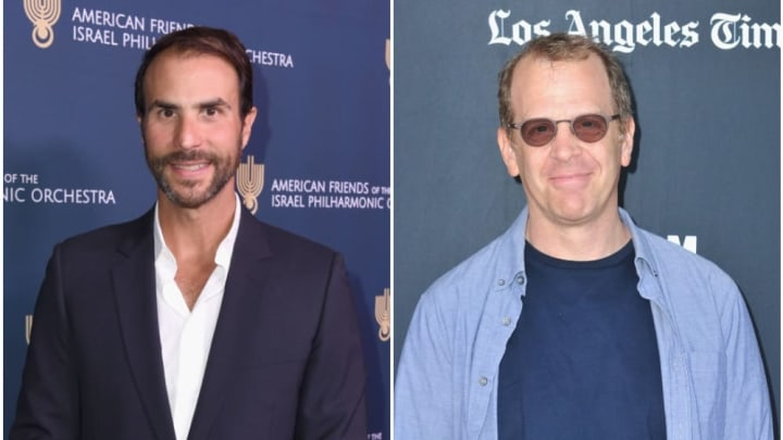 'The Office' executive producers Ben Silverman and Paul Lieberstein.