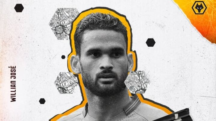 Wolverhampton have announced the arrival of Willian José.