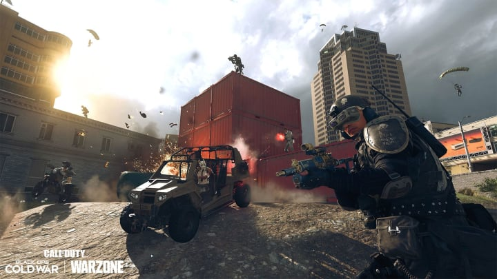 """50v50 combat is back in Warzone."""