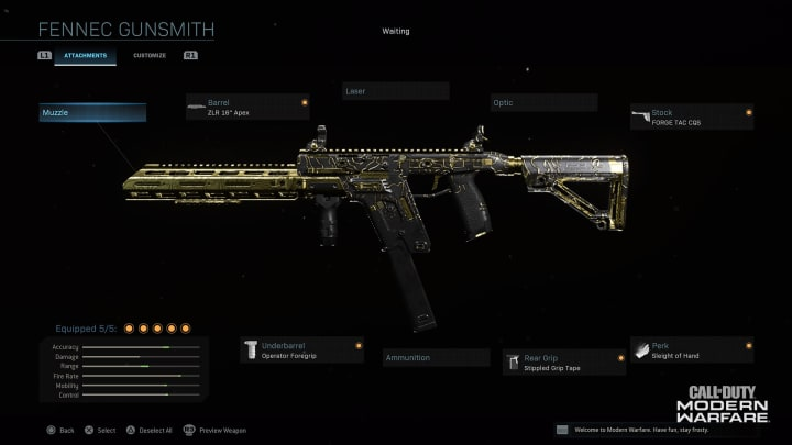 Unlocking Options For The Fennec Cr 56 Amax In Call Of Duty